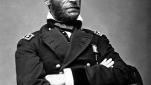 General William Tecumseh Sherman in May 1865. Portrait by Mathew Brady.