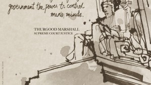 Thurgood Marshall Poster, The African Americans: Many Rivers to Cross - PBS