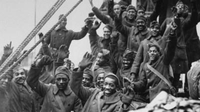 Harlem Hellfighters from World War I