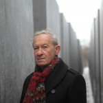 Simon Schama at the Berlin Holocaust Memorial, Germany