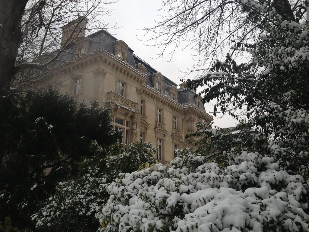 Exterior of Musee Nissim de Camondo, Paris
