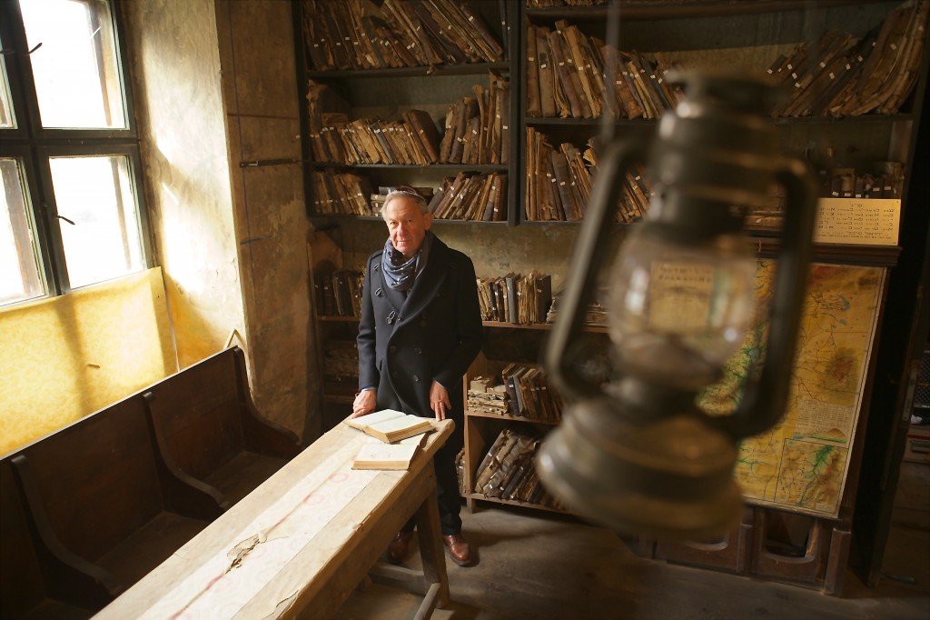 Simon Schama at Bardejov, Slovakia