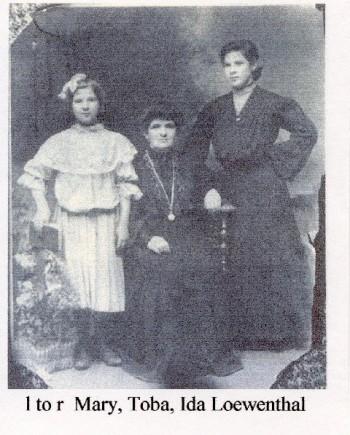 Mary Toba Ida Lowenthal